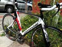 I AM SELLING 2011 CANNONDALE FULL CARBON SLICE 5