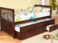 New! Twin Captains Bed! $339 Still in Box!  Call Sandy