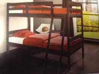 NEW TWIN OVER TWIN BUNKBED IN STOCK $189  TWIN OVER