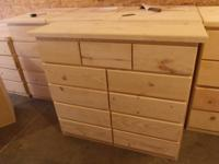 Solid Real Knotty Pine Wood Armoire Dresser Wardrobe W