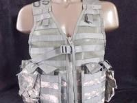NEW MO. L.L.E II ACU FIGHTING LOAD CARRIER SET-- ARMY