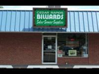 Cedar Rapids Billiards 221 Edgewood Rd. N.W. Cedar