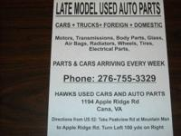 We Carry a Full Line OF Used Parts For Chevy-Ford-Dodge
