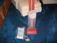 i have an oreck commercial vacuum. it is just like new!