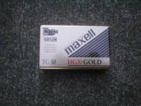 Maxell HGX-Gold TC-30 VHS-C Premium High Grade Video