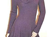 NEW VICTORIA'S SECRET Cowlneck sweaterdress Size S -