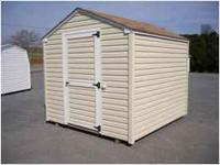 New Vinyl Salem Economy Shed w/ FREE delivery within 30