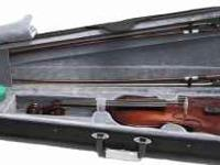 This is a 4/4 violin which comes with 2 Mongolian