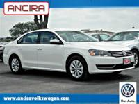 This new 2013 Volkswagen Passat S w/Appearance Package