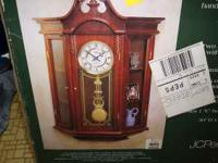 I have a new never taken out of box wall curio clock. I