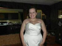 I bought this wedding gown from David's bridal for over