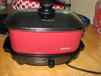 i have a brand new west bend slow cooker never used i