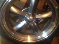 I have got 2 brand new torque thrust wheels and raptor