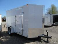 NEW 6 x 12 Enclosed Trailer - $2695 (Broken Arrow, OK)