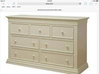 Already assembled, solid wood Sorelle double dresser