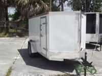 NEW! This enclosed trailer is from our Fayetteville, NC