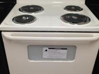 New Starch and Dent GE Electric Stove Awesome for