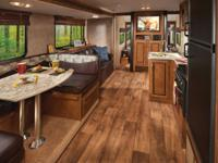 The Wildwood X-Lite 262BHXL travel trailer by Forest