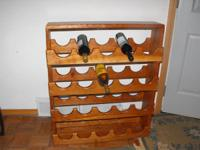 I make wine racks in my shop in Madison, WI. I have