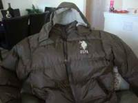 New never worn winter jacket size XL. It is a US Polo