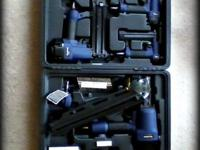Hi! This is an all new 5 pc. Framing Nailer Kit from