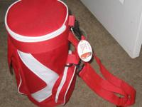 New With Tag, SPORT CHEF brand, red miniature golf bag