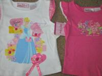 New with tags, Qty of 2, ladies Walt Disney Princess