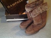 Up for sell is a pair of Size 7 Rampage Allie Boots in