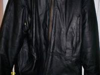 I have a very nice women's leather jacket with a thick