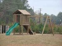 CAROLINA BACKYARDS PLAYSETS www.carolinabackyards.com -