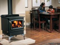 NEW REGENCY F2400 Wood Burning Stove ALL BLACK STORE