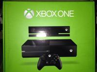 Brand new Xbox One game console sealed in box with