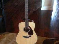 I have a New Yamaha Acoustic Guitar FG700S model. My