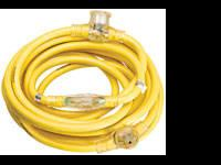 NEW! - YELLOW JACKET 3 Outlet Extension Cord 12/3 25'
