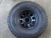 New Geolander tire, unusual size to discover pre-owned