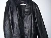 For Sale: New York & Company Leather Jacket - Size XL