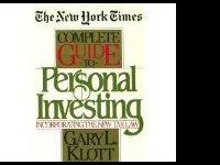 New York Time Complete Guide to Personal Investing by