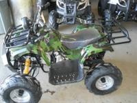 Youth kid size atv's  Atvs are fully assembled with