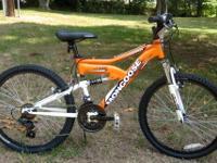 New Youth Mongoose Xr 75 Mountain Bike Orange