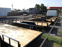 "NEW 2013- 6'4"" x 12' Single Axle Utility Trailer 6'4"" x"
