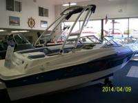 Brand New, Old Stock, 2013 Bayliner 185 equipped with a