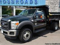 NEW 2013 Ford F-550 'XL' 4X4 Regular Chassis Cab DUMP