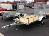 This trailer is built with Galvanized Steel to last.
