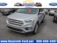 Ingot Silver 2017 Ford Escape Titanium 4WD 6-Speed