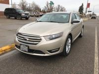 2017 Ford Taurus Limited Driver Assist Pkg White Gold