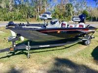 NEW 2017 Tracker Marine Tracker Boats Pro Team 195 TXW