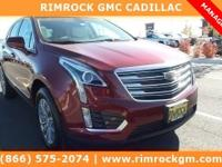 Red 2018 Cadillac XT5 Luxury AWD 8-Speed Automatic 3.6L