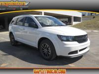 White 2018 Dodge Journey SE FWD 4-Speed Automatic VLP