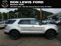 Ingot Silver 2018 Ford Explorer XLT AWD 6-Speed