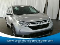 -Great Gas Mileage- This 2018 Honda CR-V EX-L is Lunar